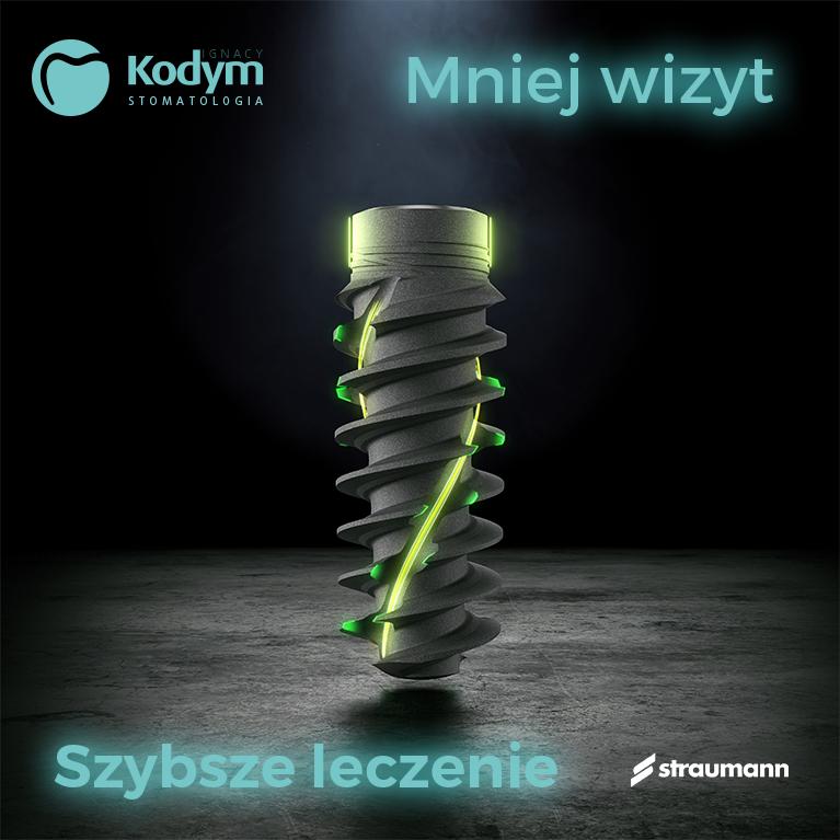 Implanty Straumann klinika partnerska Konin - Ignacy Kodym